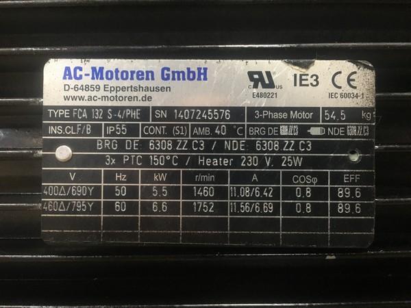 IE3AC13S4009 AC Motoren TÜRKİYE Satışı