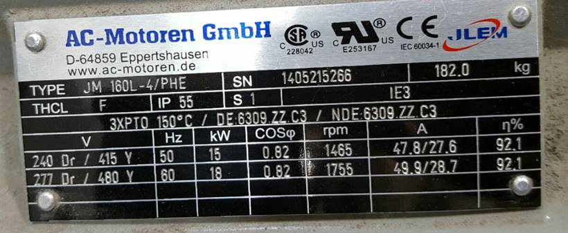 FCM 160 L 4/PHE AC Motoren | JAPAN Sales
