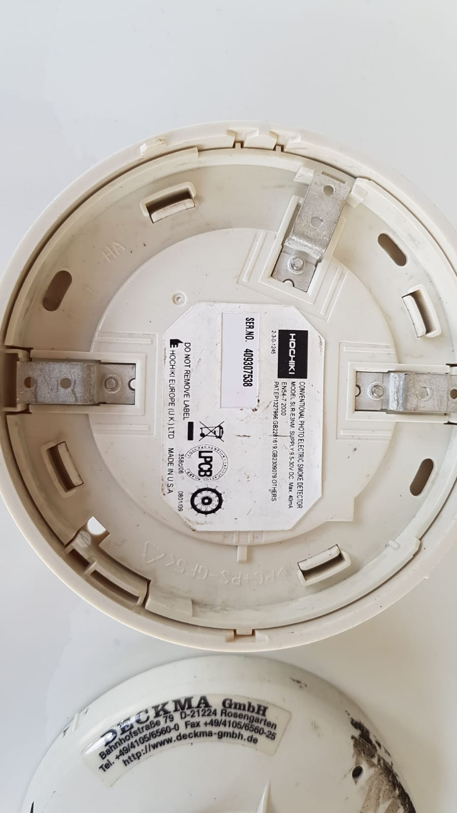Hochiki ALG-EN Photo-Electric Smoke Detector